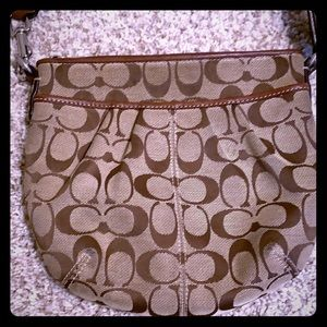 Coach small sling purse